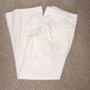 White khakis from GAP